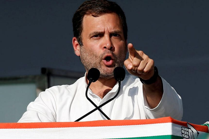 Mr Rahul Gandhi, president of India's main opposition Congress party, has also promised income support of 72,000 rupees annually to poor families.