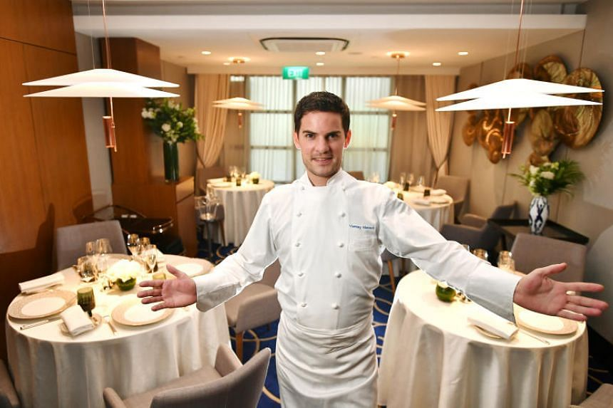 Executive Director and Executive Chef Vianney Massot, 27, at Vianney Massot Restaurant on March 26, 2019.