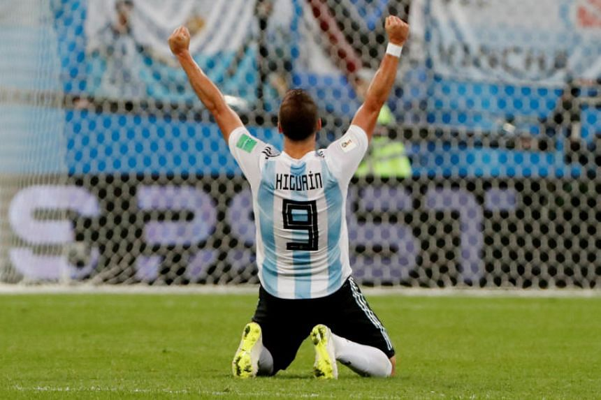 Gonzalo Higuain says he can devote more time to his family and more focus on his English Premier League club Chelsea.