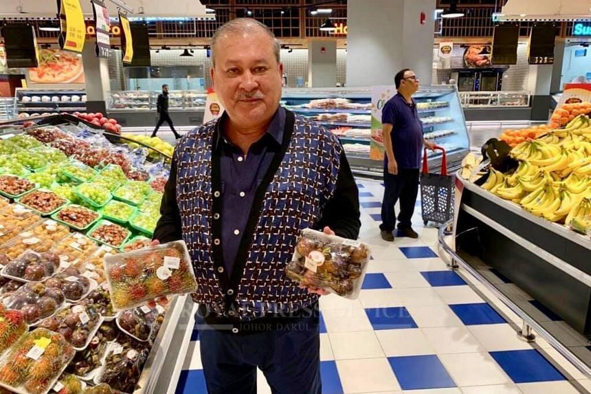 "Johor Sultan Ibrahim Sultan Iskandar, who is currently on a private trip in the Middle East, announced on Facebook that he is planning to have a ""strategic cooperation"" with a hypermarket."