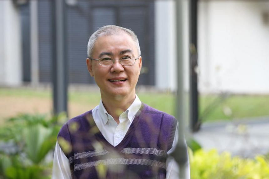 Dr Robin Chan, 54, was diagnosed with dyslexia only in his late 20s.