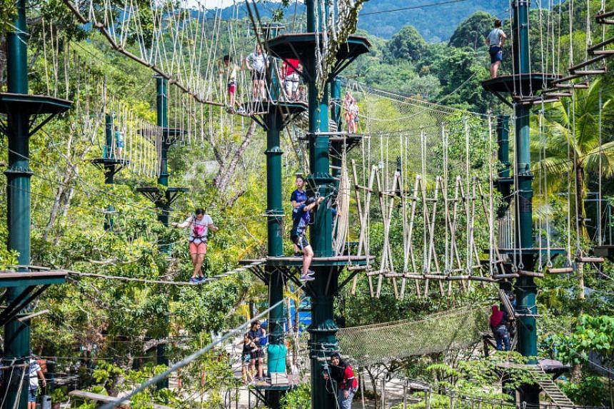 Sim Leisure's Escape Adventureplay theme park in Penang.