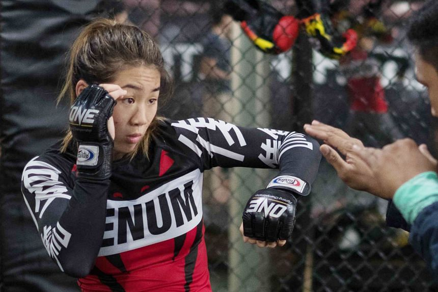 The One Championship's strawweight world title will be on the line on Sunday when Singapore's Angela Lee meets China's Xiong Jingnan, with both fighters unbeaten within the promotion.