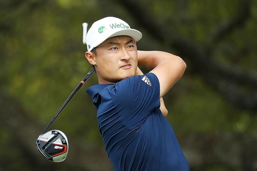 With a perfect record of two wins, China's Li Haotong is in the driver's seat to win his group and advance to the round of 16 of the WGC-Dell Technologies Match Play.