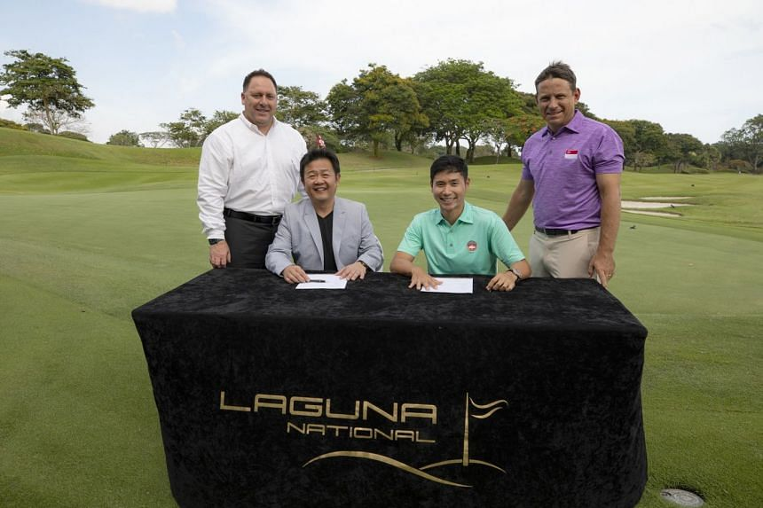 The SGA has launched its first high-performance training centre at Laguna National Golf and Country Club.