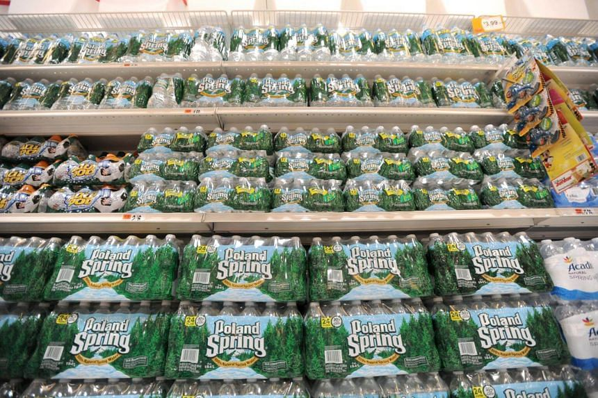 """Poland Spring water has become """"the dominant brand in a market in which it does not even belong,"""" the suit says."""