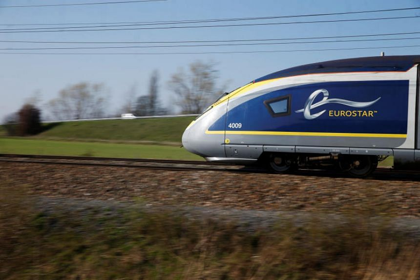 Eurostar suspended all services to and from London St Pancras, where the trespasser was located.