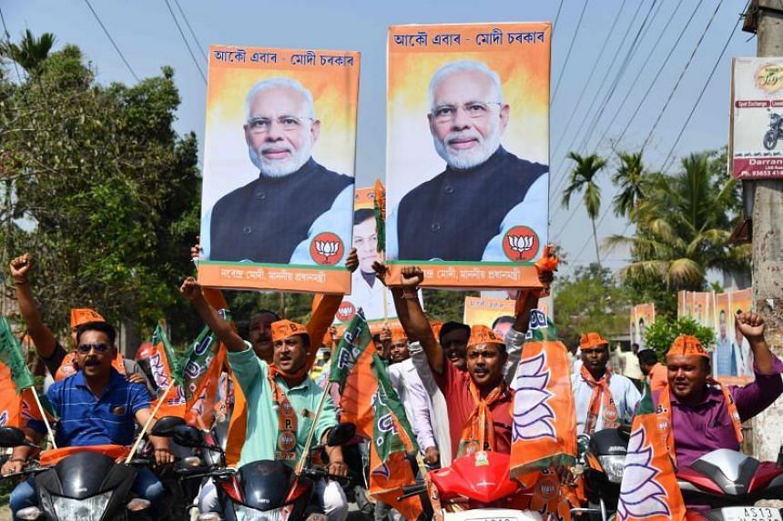 National sentiment on security and terror-related issues in India has waned to about 15 per cent after peaking at nearly 29 per cent in early March 2019, following India's airstrikes on a suspected militant camp in Pakistan, according to CVoter polli
