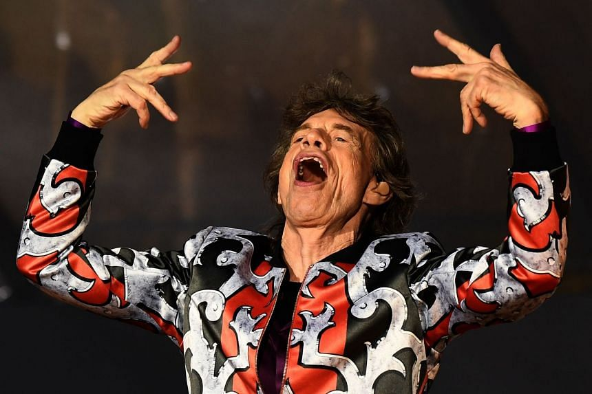Jagger performs during a concert in France in June 2018.