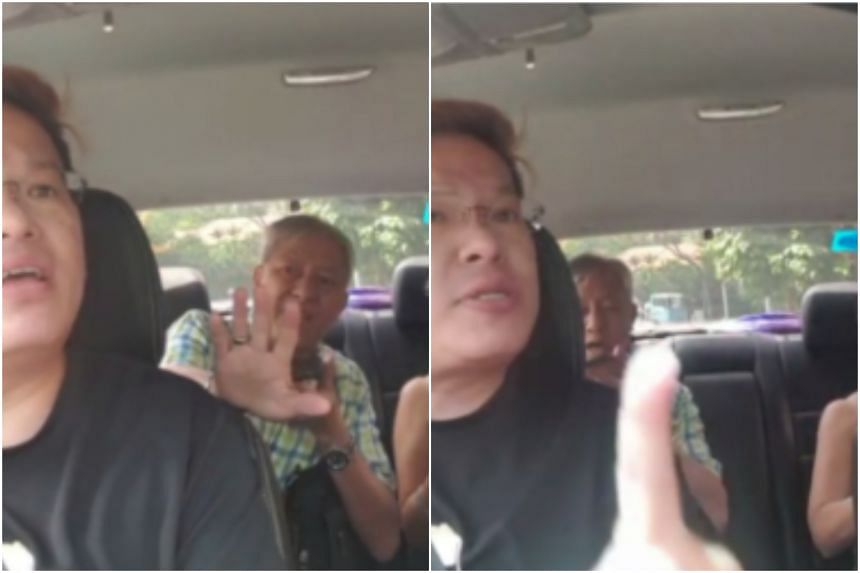 Gojek driver argues with passengers over $7 fare difference, lodges
