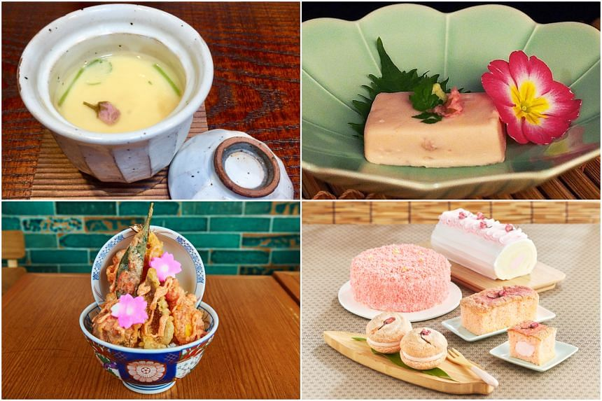 Sakura season in Japan has started and eateries are rolling out all things pretty in cherry blossom pink.