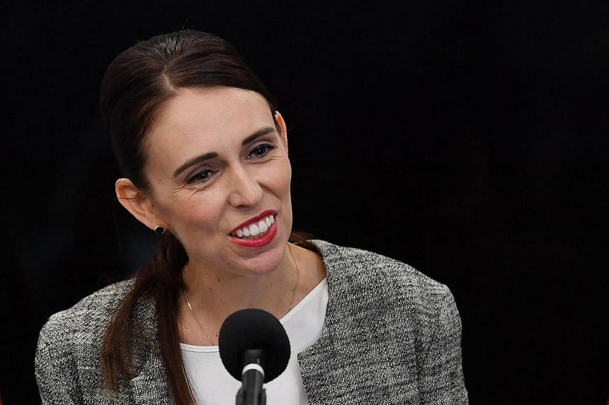 New Zealand's Prime Minister Jacinda Ardern speaks to the media during a press conference at the Justice Precinct in Christchurch, on March 28, 2019.