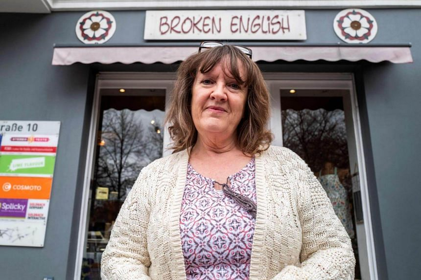 Ms Dale Carr and her husband Robin in 1996 opened Broken English, a shop selling British goods to homesick expats and Germans with a taste for UK treats in the trendy district of Kreuzberg.