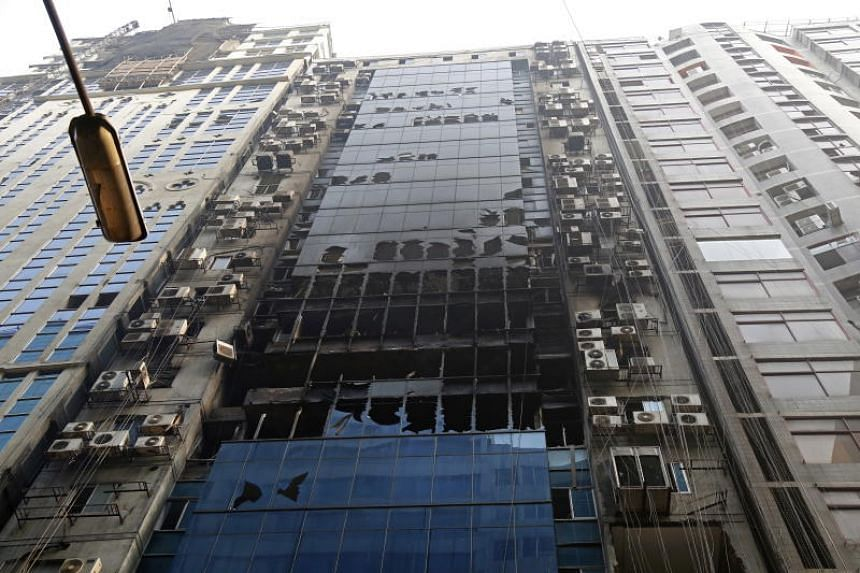 The latest deadly blaze to hit Bangladesh's congested capital tore through the 22-storey FR Tower on March 28, 2019.
