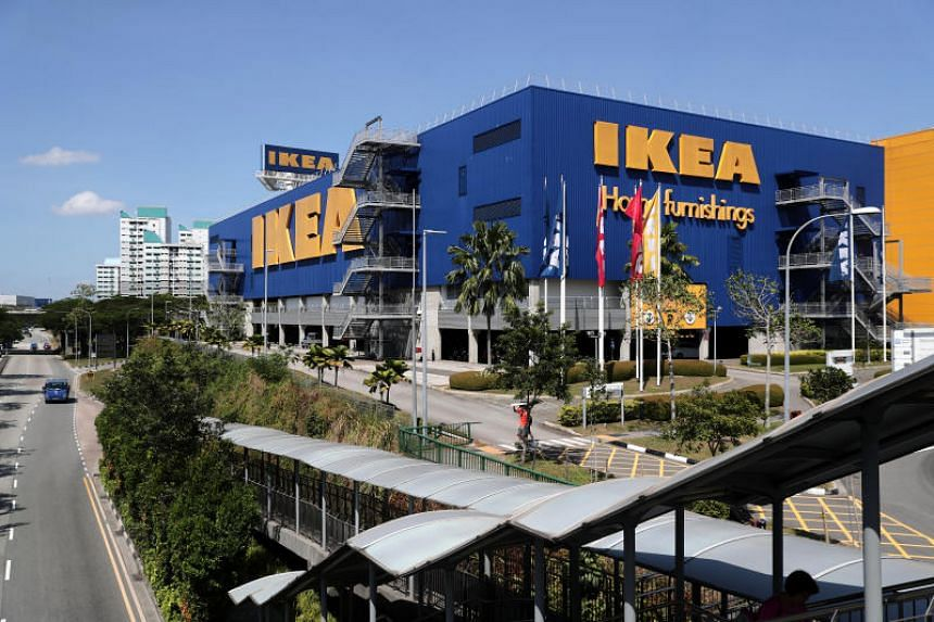 The five boys were arrested after hiding in Ikea Tampines and staying beyond the store's operating hours.