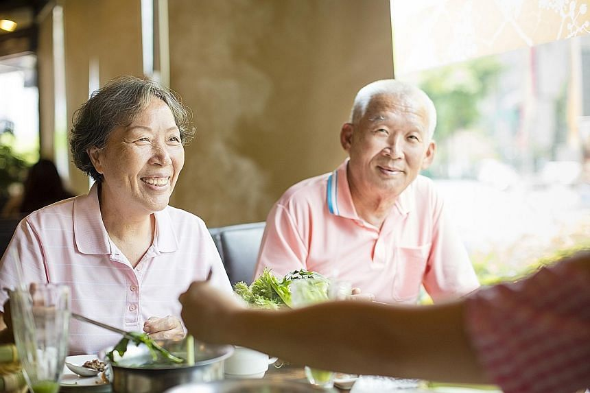 Making mealtimes pleasant for elderly folk can improve their appetite and motivate them to eat more and eat better.