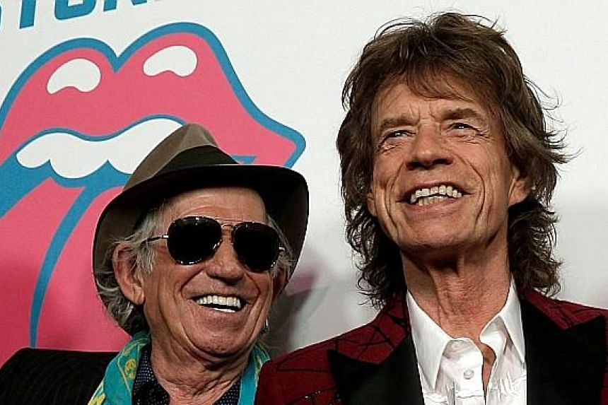 Keith Richards (left) still gets on the nerves of Rolling Stones' frontman Mick Jagger (right) every now and then.