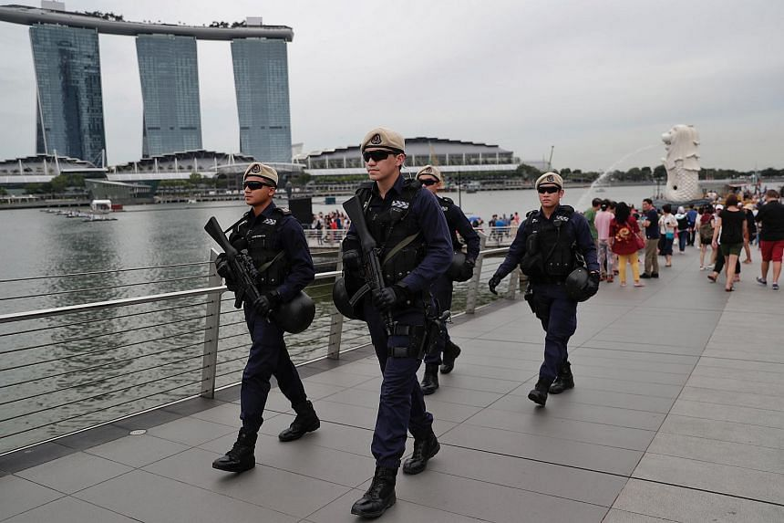 In Singapore, the police have deployed In-Situ Reaction Teams in high human traffic areas to respond quickly to incidents, said Senior Parliamentary Secretary for Home Affairs Sun Xueling.