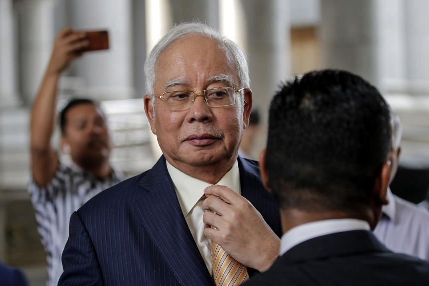 Former Malaysian Prime Minister Najib Razak is facing seven charges involving RM42 million in funds belonging to SRC International Sdn Bhd.