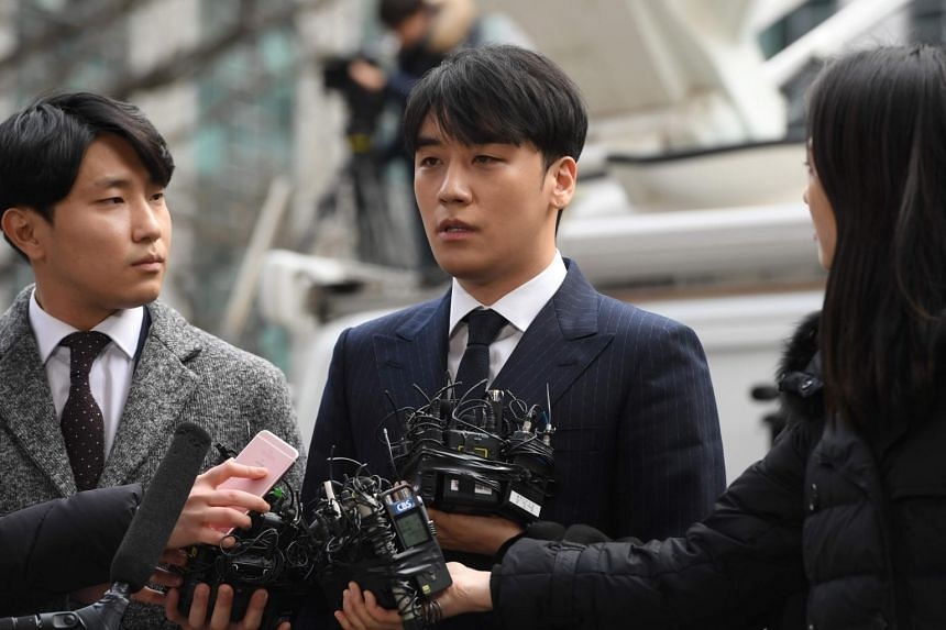 The Korea Herald cited the Ilyo Shinmun report in saying that prostitutes were procured for Seungri's birthday party in the Philippines in 2017, when he was visiting for business, and would-be investors at Club Arena in Seoul.