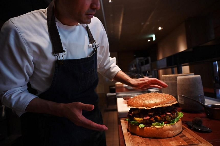 The burger, which marks the ushering in of Japan's new Reiwa Era, will stay on the menu until the end of June.