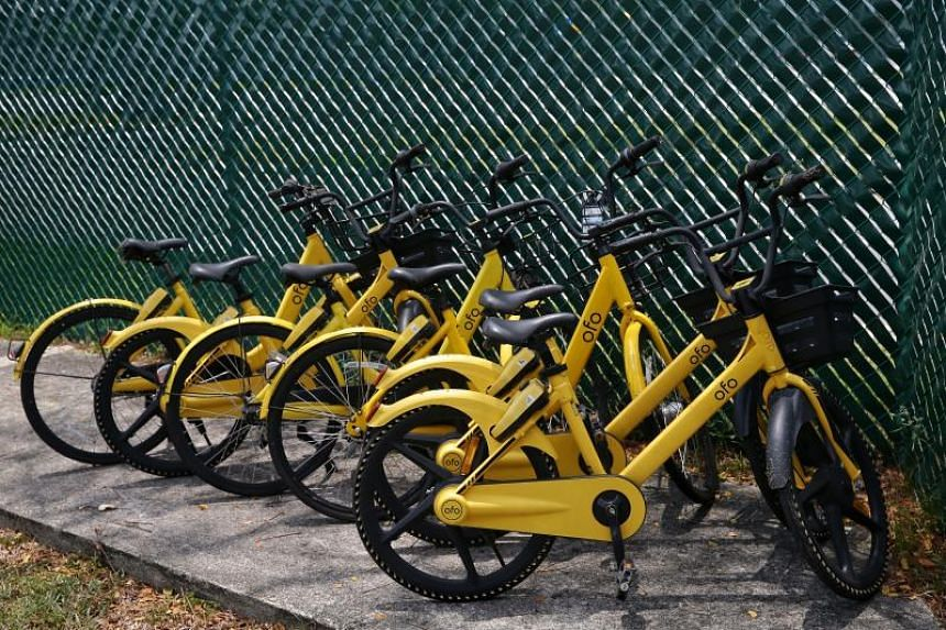 ofo is one of three major bike-share operators in Singapore to hit the skids.