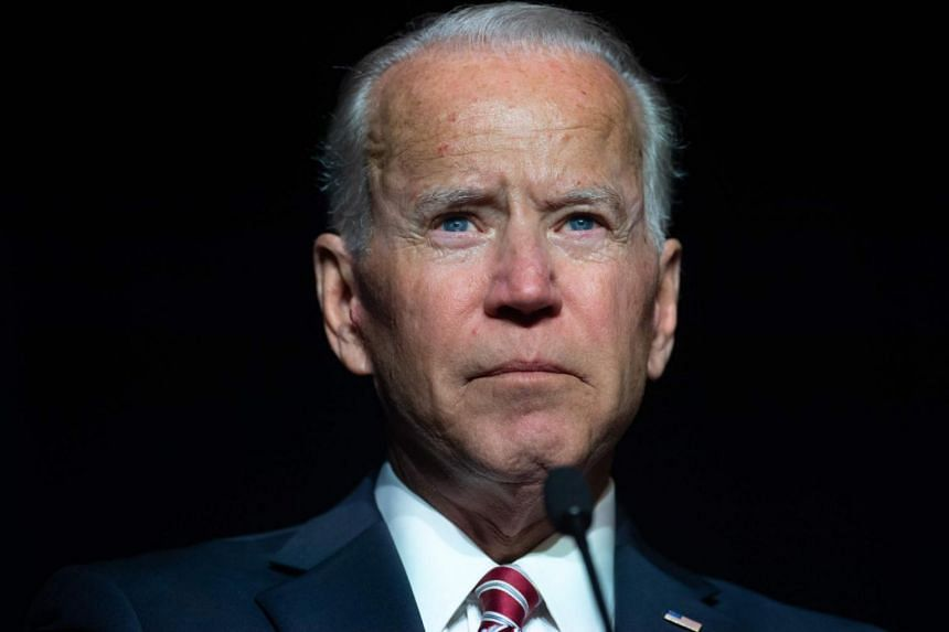 Ex-U.S. Vice President Biden denies inappropriate conduct over alleged kiss