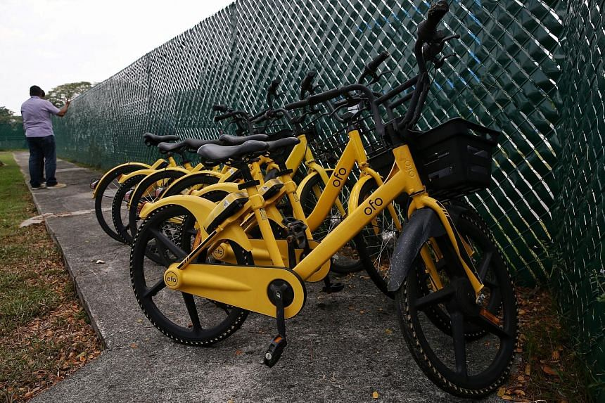 Yesterday's auction of ofo's bicycles attracted around 30 individuals, many from scrap-metal recycling companies. The bike-sharing operator's licence to operate services in Singapore was suspended in February.