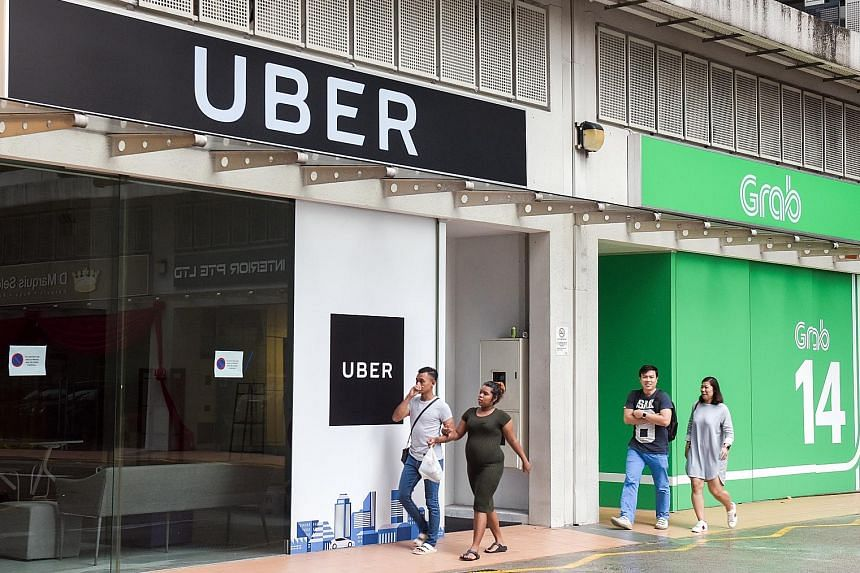 Uber announced in March last year that it was exiting South-east Asia - including Singapore - and that its regional business would be acquired by Grab.