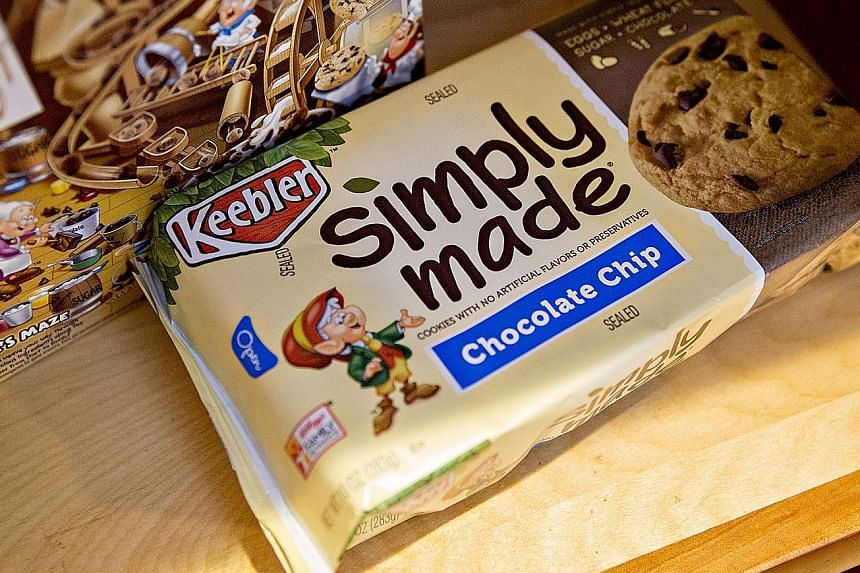 Keebler is among the brands being sold to Ferrero. Kellogg bought Keebler in 2001 for over US$4 billion in cash and assumed debt.