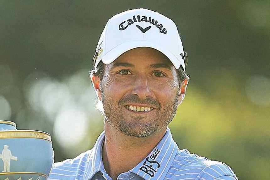 """After being too """"amped up"""" last year when he lost the final, Kevin Kisner was not over-hyped on Sunday."""
