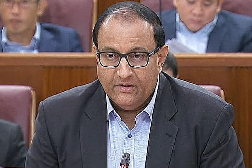 Communications and Information Minister S. Iswaran