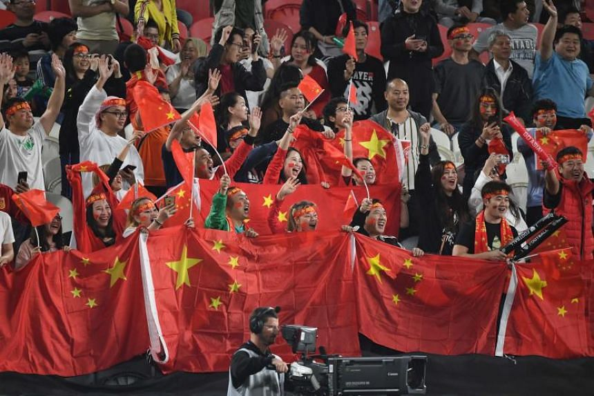 China has a population of 1.4 billion but has continually underachieved in football.
