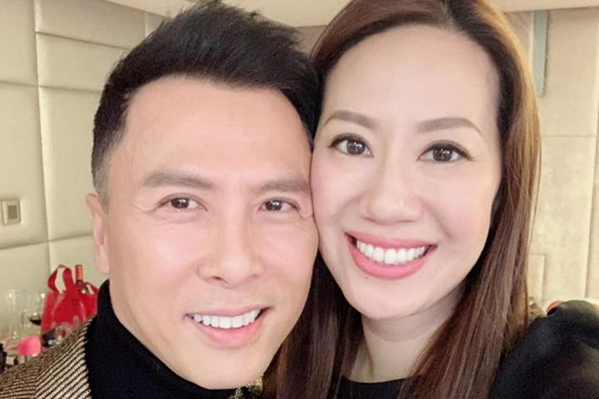 Donnie Yen's wife Cissy Wang said she felt that Hollywood and Korean pop stars were treated better during a fund-raising event last week.