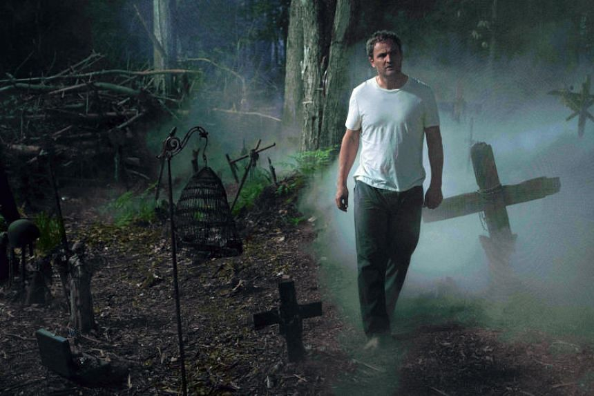 In Pet Sematary, Jason Clarke plays Louis Creed, a man who loses his daughter and embarks on a grisly, supernatural journey in a bid to bring her back.