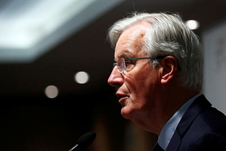 The European Union's chief Brexit negotiator Michel Barnier said on April 2 that Britain has become more likely in the recent days to crash out of the bloc without a divorce agreement.