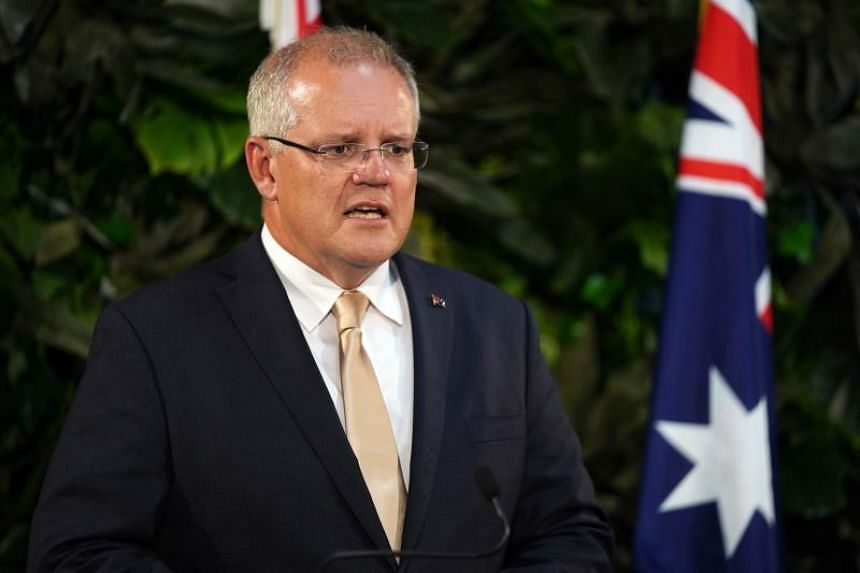 Australian Prime Minister Scott Morrison presented tax cuts and big-spending infrastructure projects targeting middle class and regional voters who will be crucial to his election prospects.