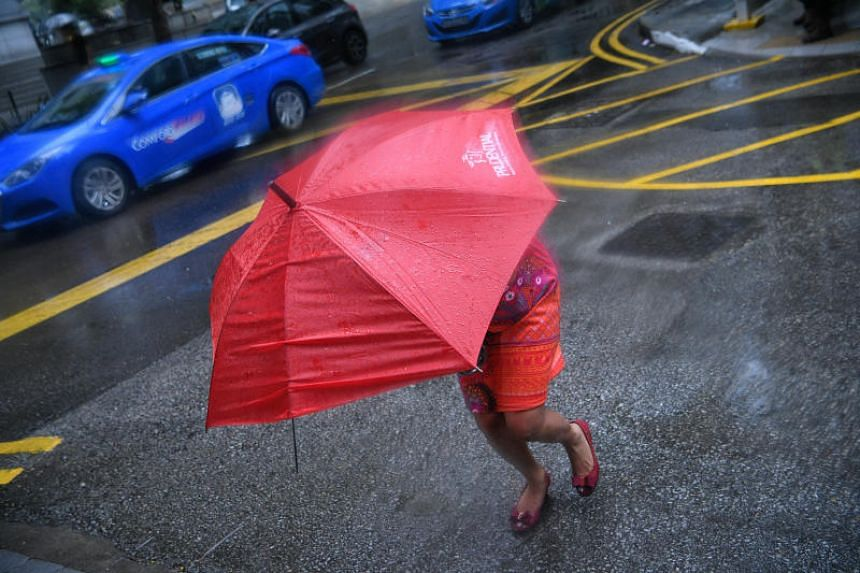 More rainy days are expected in the next two weeks as compared to the last two weeks of March.