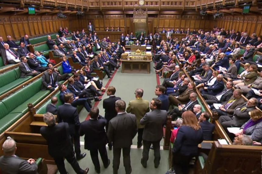 MPs in the House of Commons in London on April 1, 2019, following the outcome of the second round of indicative votes on the alternative options for Brexit.