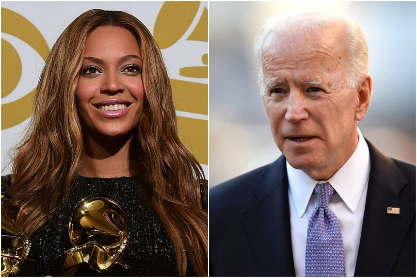Separate incidents saw megastar Beyonce and former US Vice-President Joe Biden becoming the subject of water cooler talk.