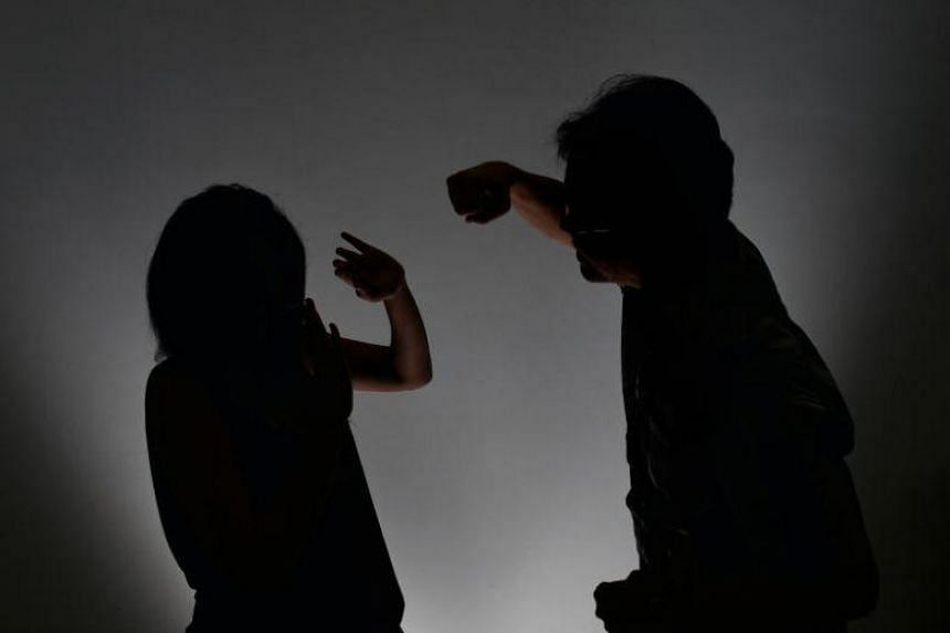 Posed photo of a man scolding a woman. The new penalties for offences against vulnerable persons with mental or physical disabilities will match those introduced recently in the Criminal Law Reform Bill.