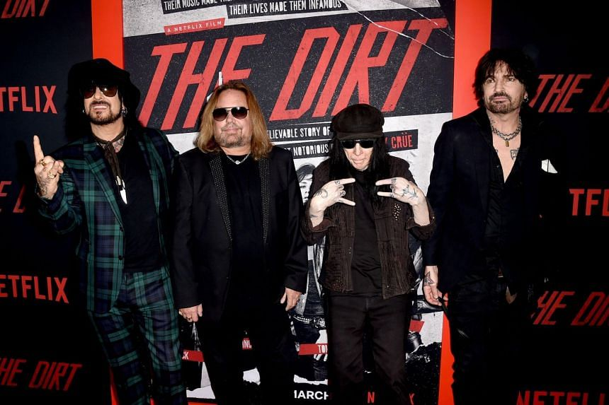 Motley Crue's soundtrack to The Dirt, a drama based on a tell-all book on the band, opened at No. 10, the first time that the rockers have reached the top 10 since their last studio album.