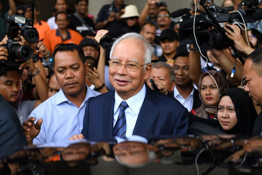 Former Malaysian prime minister Najib Razak is facing seven charges of criminal breach of trust and abuse of power involving RM42 million (S$13.94 million) in funds belonging to SRC International.