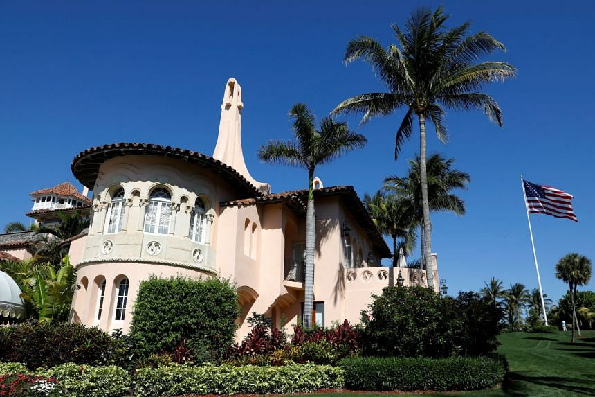 US President Donald Trump's Mar-a-Lago estate in Palm Beach, Florida, March 22, 2019.