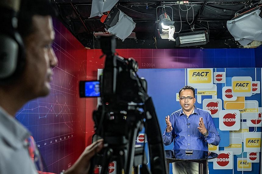 Mr Jency Jacob, the managing editor of Boom, which fact-checks posts in India for Facebook. The social media giant, which owns WhatsApp, has boosted its stable of organisations doing fact-checking for posts in India.