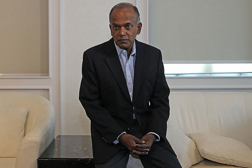 Law and Home Affairs Minister K. Shanmugam said the Bill gives ministers the power to make the initial decision on a falsehood because there is a need to act fast to prevent its spread.