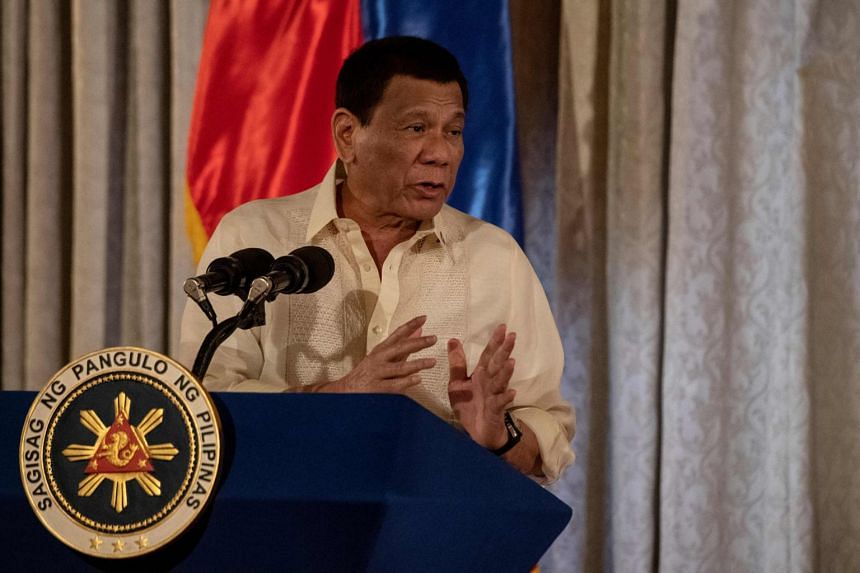 Philippine President Rodrigo Duterte  said China isn't after Philippine territory, and hasn't asked for anything in exchange for the weapons and aid its given the Philippines.