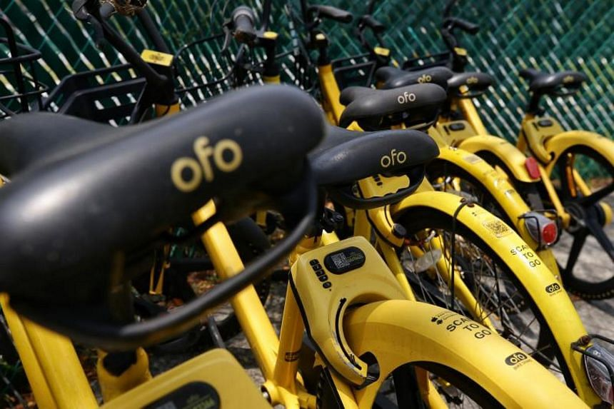 Ofo was granted approval to operate 25,000 bicycles under the LTA's bike-sharing licence regime in September 2018.