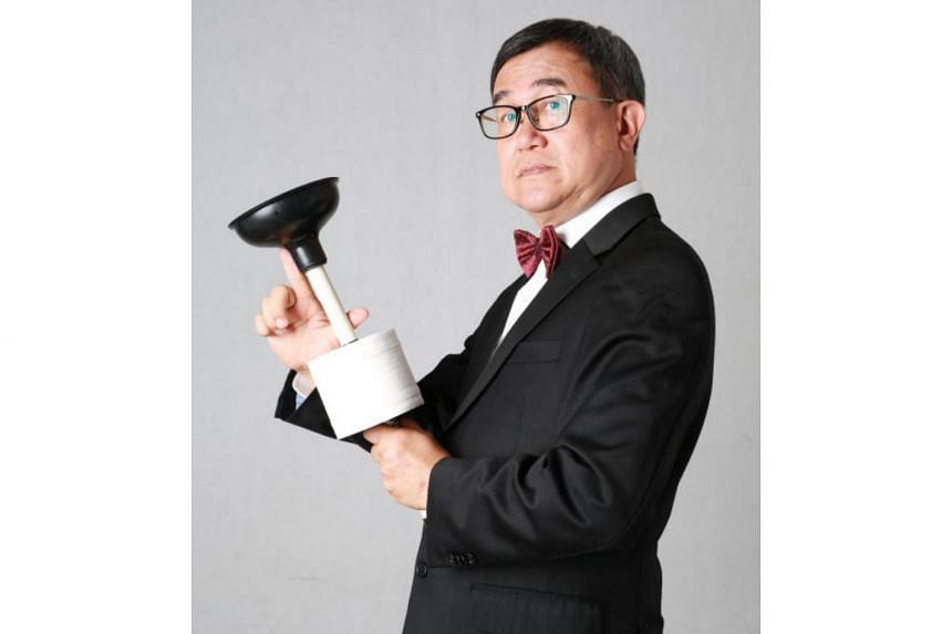 World Toilet Organisation founder Jack Sim in a still from the film, Mr. Toilet: The World's #2 Man.