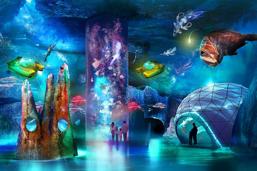 Resorts World Sentosa's S.E.A. Aquarium will be expanded to create Singapore Oceanarium, which will be three times larger than the current aquarium.